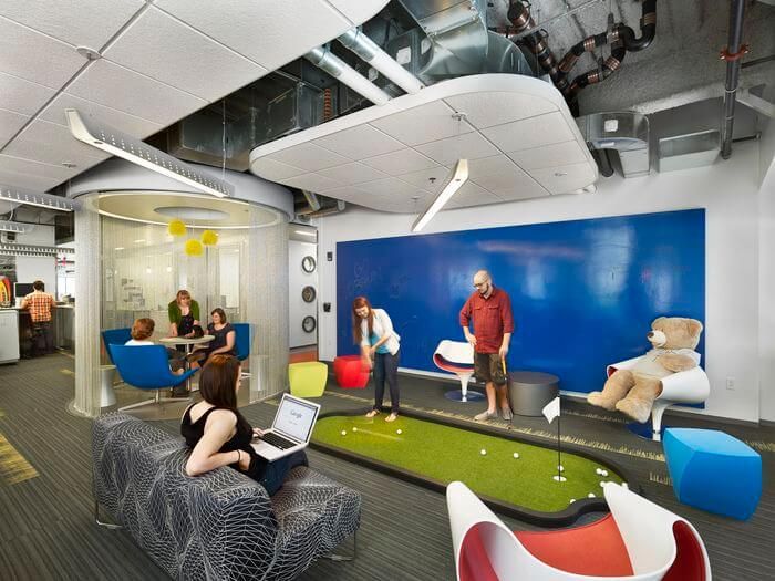 "Creating a Company Culture: ""Cool"" Workplaces"