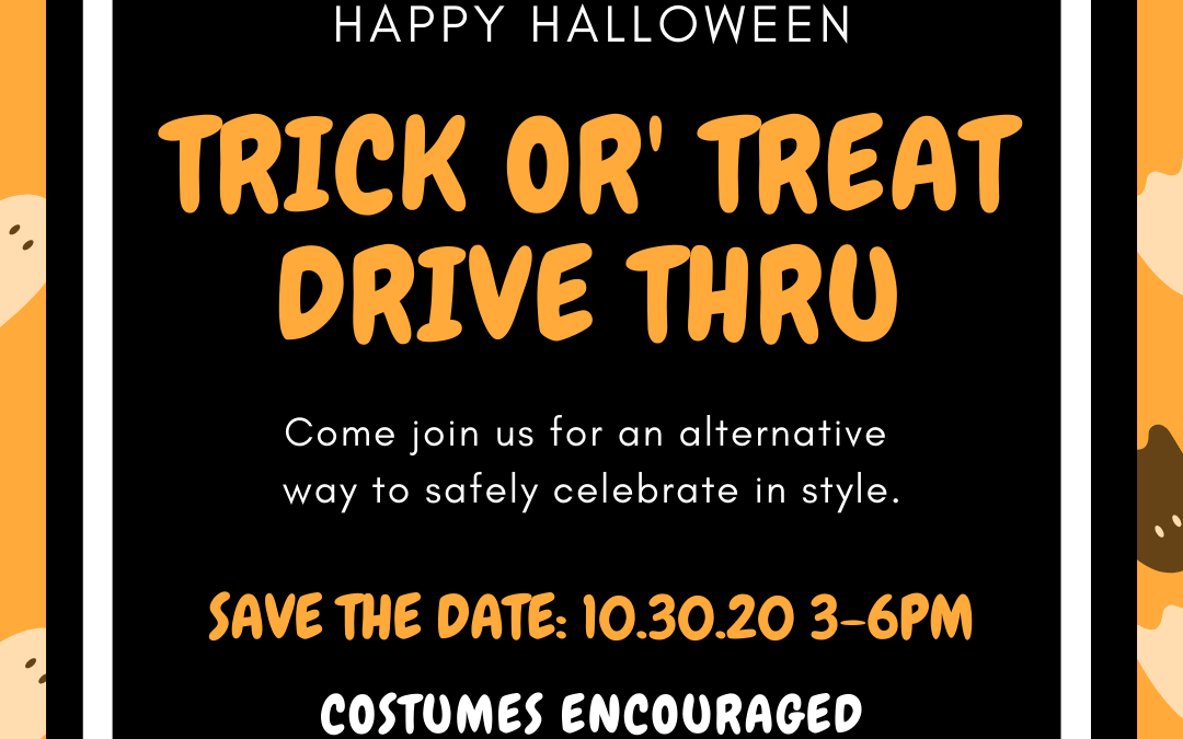 Trick Or Treat [safely] With Us!